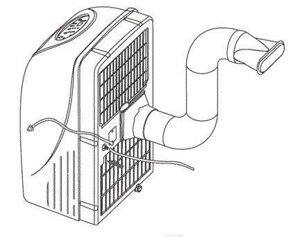 Ballu BPAC-18 CE напольный мобильный кондиционер