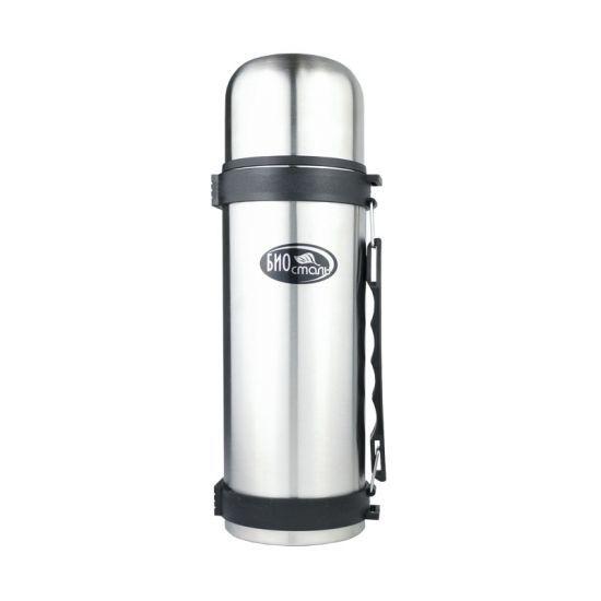 Biostal (1 литр) с ручкой (стальной) термос