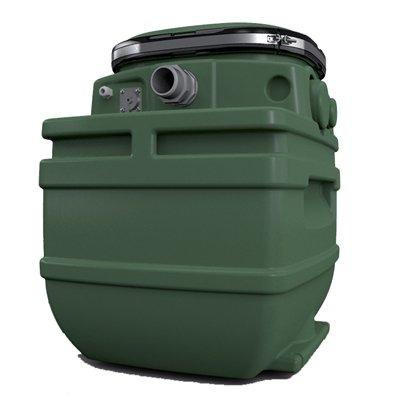 """DAB FEKAFOS 280 2""""   DOUBLE емкость для канализационной установки"""