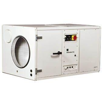 Dantherm CDP 125 (220B) с водоохлаждаемым конденсатором промышленный осушитель воздуха