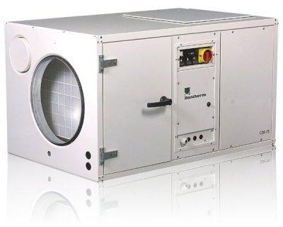 Dantherm CDP 75 с водоохлаждаемым конденсатором канальный осушитель воздуха для бассейнов