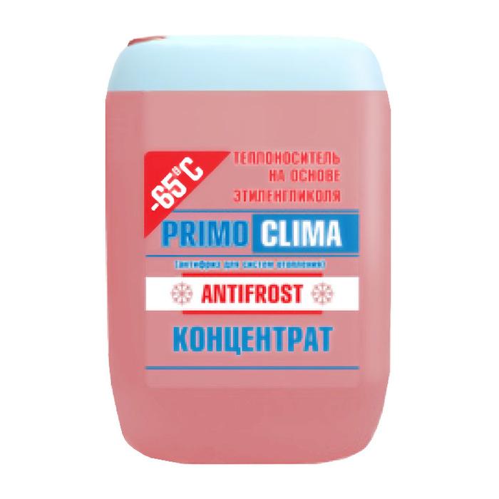 Primoclima Antifrost Теплоноситель концентрат (Этиленгликоль) -65C 10 кг теплоноситель