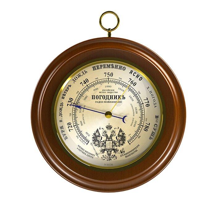 Rst 05330 атмосферный деревянный барометр