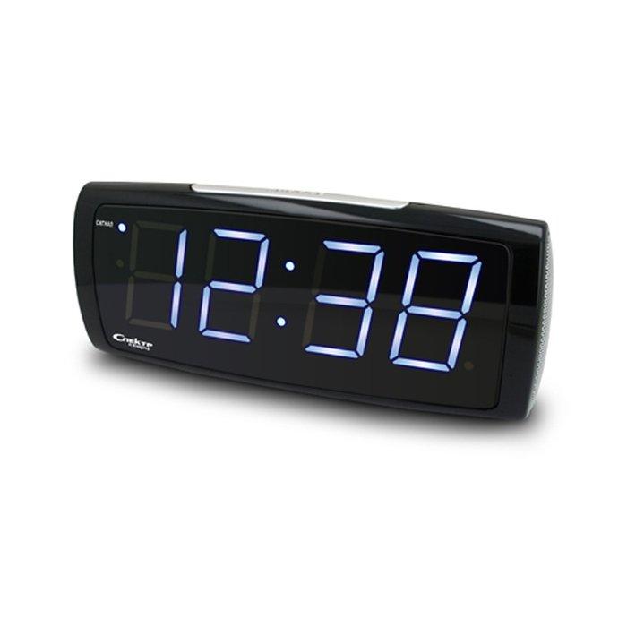 Спектр СК 1819 Ч-Б часы без проекции