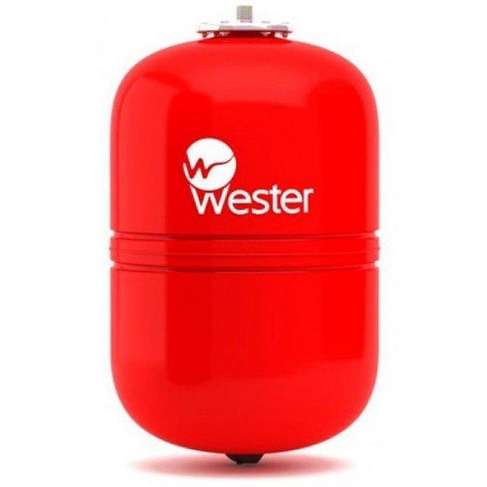 Wester WRV 12 красный расширительный бак закрытого типа