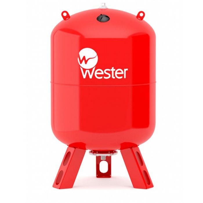 Wester WRV 500 (top) для отопления красный расширительный бак